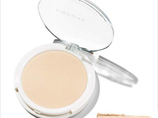 2 in 1 Prime Set UnderOver Lightweight Powder UNDONE BEAUTY UnderOver Powder For Priming Setting Oil Control for Shine Free Naked Skin Finish Vegan Cruelty Free LIGHT 0 540x405 c
