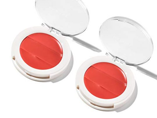 3 in 1 Lip Cheek Cream Value 2 pack Coconut Extract for Radiant Dewy Natural Glow UNDONE BEAUTY Lip to Cheek Palette Blushing Highlighting Tinting Sheer to Opaque Color BLAZEN 0 540x405 c