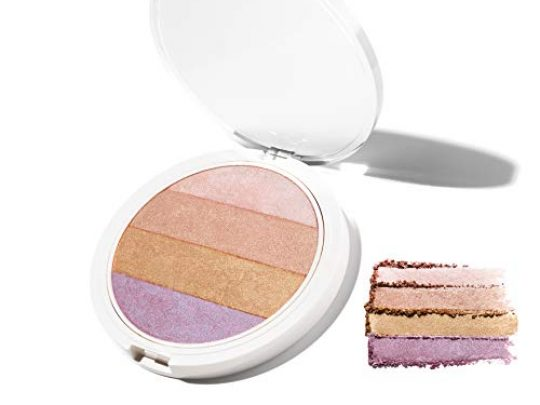 4 in 1 Highlighting Palette Coconut Extract for Dewy Radiant Glow UNDONE BEAUTY Nonzer Blendable Powder for Highlighting Contouring Strobing for Face Body Vegan Cruelty Free 4 IN 1 0 540x405 c