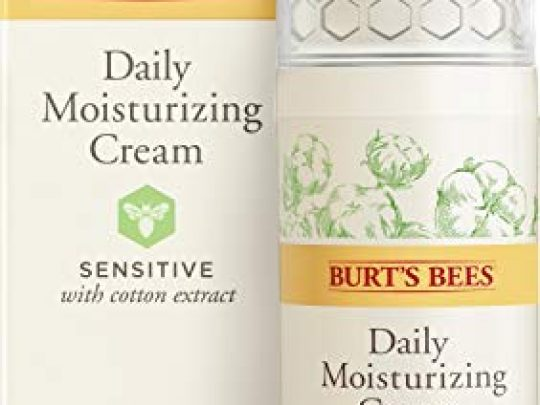 Burts Bees Daily Face Moisturizer Cream for Sensitive Skin 18 Oz Package May Vary 0 540x405 c