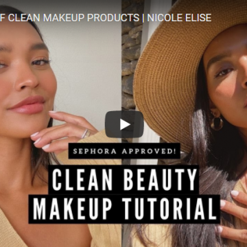 Clean Beauty Products by Nicole Elise