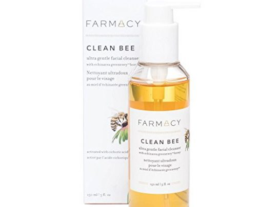 Farmacy Clean Bee Gentle Facial Cleanser Daily Face Wash Moisturizer wHyaluronic Acid 0 540x405 c