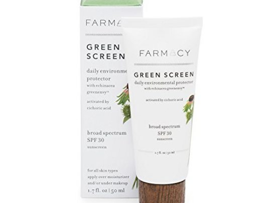 Farmacy Green Screen Daily Environmental Protector SPF30 Broad Spectrum Mineral Sunscreen 0 540x405 c