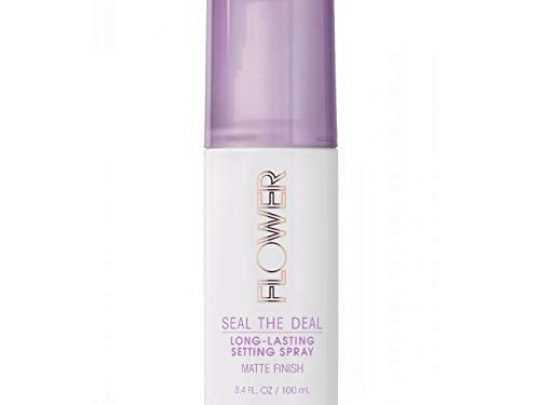 Flower Beauty Seal The Deal Long Lasting Setting Spray Matte Finish for All Day Face Makeup Cruelty Free 34fl oz 0 540x405 c