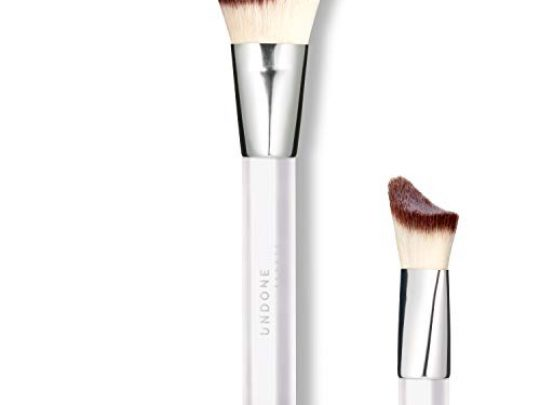Handcrafted Highlighting Contouring Blending Angled Brush UNDONE BEAUTY Apply Blend Brush For Cream Powder Makeup Foundation Bronzers Soft Durable Bristles Vegan Cruelty Free 0 540x405 c