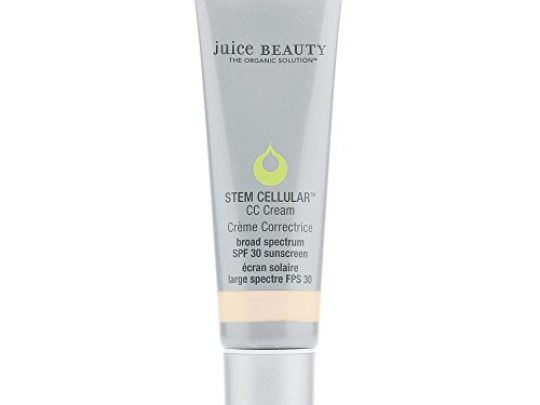 Juice Beauty Stem Cellular CC Cream SPF 30 Broad Spectrum Sunscreen and Color Correcting Face Cream Vegan Made with Certified Organic Ingredients 17 Fl Oz 0 540x405 c