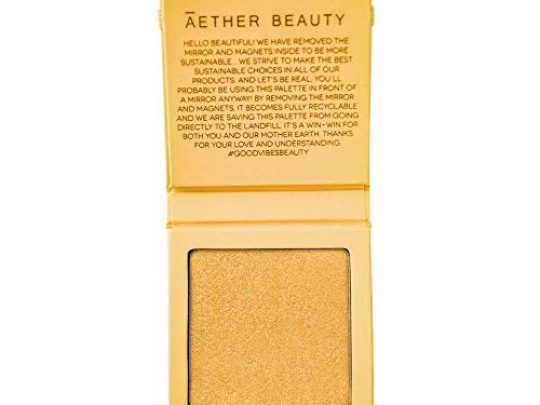 Aether Beauty Supernova Crushed Diamond Highlighter Clean Non Toxic Makeup Yellow Diamond 0 540x405 c