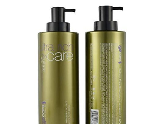 BIN GOCARE Hair Shampoo Sulfate Free Formulated in Italy Moisture the Scalp Anti dandruff and Anti Frizz Best for Damaged Dry Curly or Frizzy Hair All Hair Types Men and Women 333oz1000ml 0 540x405 c