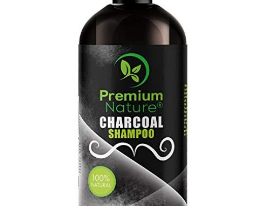 Charcoal Shampoo Sulfate Free Clarifying All Natural Volumizing Moisturizing Activated Charcoal Hair Shampoo for Curly and Damaged Hair 0 540x405 c