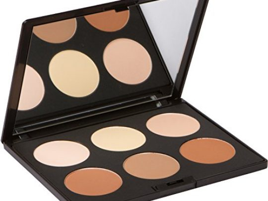 Contour Kit and Highlighting Powder Palette Cruelty Free and Paraben Free by Elizabeth Mott 0 540x405 c