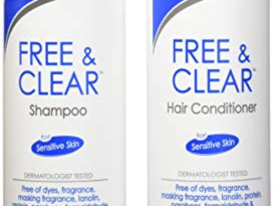 Free Clear Set includes Shampoo 12 Oz and Conditioner 12 Oz One each 0 540x405 c