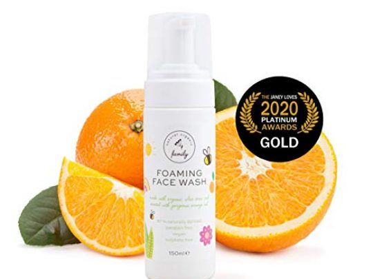 Gentle Kids Foaming Face Wash Organic Natural Vegan Toxin Free Sulphate Free Paraben Free For Kids and Preteens 0 540x405 c