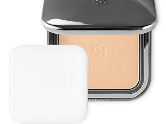 KIKO MILANO Matte Fusion Pressed Powder Face Powder Foundation With a Natural Matte Powder Finish Color Beige Rose 01 Cruelty Free Makeup Professional Makeup Foundation Made in Italy 0 540x405 c