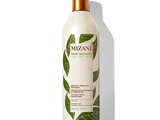 MIZANI True Textures Moisture Replenish Shampoo Smooths Hydrates with Coconut Oil Sulfate Paraben Free for Curly Hair 0 540x405 c