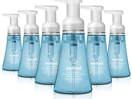 Method Foaming Hand Soap Sea Minerals 10 oz 6 pack Packaging May Vary 0 540x405 c