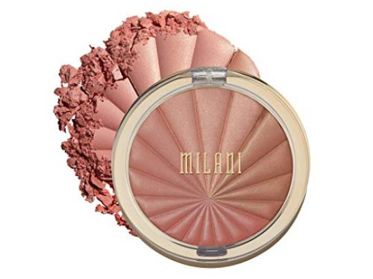 Milani Color Harmony Blush Palette Berry Rays 03 Ounce Vegan Cruelty Free Powder Blush Compact Shape Contour Highlight Face with 4 Matte Shades 0 540x405 c