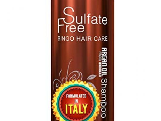 Moroccan Argan Oil Shampoo Sulfate Free Best for Damaged Dry Curly or Frizzy Hair Thickening for Fine Thin Hair Safe for Color Treated Keratin Treated Hair Professional Line 0 540x405 c