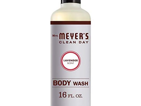 Mrs Meyers Clean Day Moisturizing Body Wash for Women and Men Cruelty Free and Biodegradable Shower Gel Made with Essential Oils Lavender Scent 16 oz 0 540x405 c
