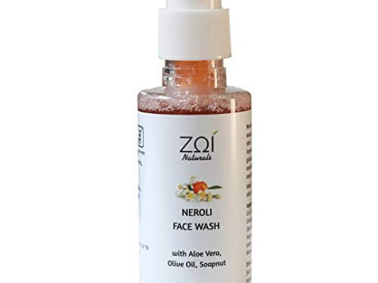 Natural Face Wash Facial Cleanser with Neroli Cleanses pores for Normal Dry Oily and Sensitive skin types Non Drying Face Wash for Women Mens Face Wash Acne Face Wash Daily Use 0 540x405 c
