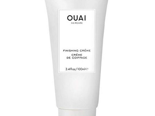 OUAI Finishing Creme This Lightweight Hydrating Cream Protects from Heat Styling While Smoothing Dry Split Ends and Adding Shine Tame Frizz and Add Body Free from Parabens and Phthalates 34 oz 0 540x405 c