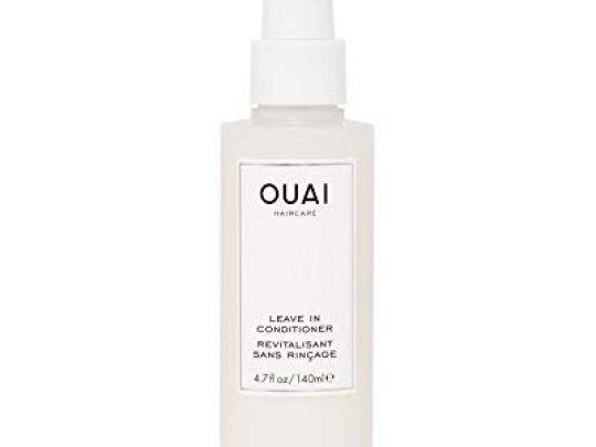 OUAI Leave In Conditioner Multitasking Mist that Protects Against Heat Primes Hair for Style Smooths Flyaways Adds Shine and Detangles Free from Parabens Sulfates and Phthalates 47 oz 0 540x405 c