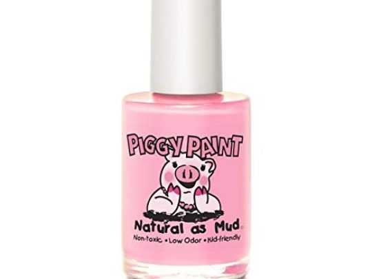 Piggy Paint 100 Non toxic Girls Nail Polish Safe Chemical Free Low Odor for Kids Muddles the pig 0 540x405 c
