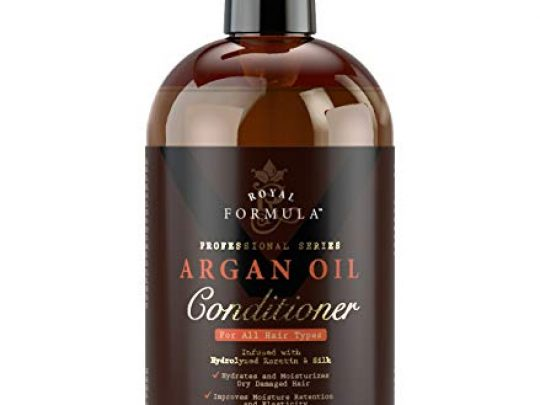 ROYAL FORMULA Moroccan Argan Oil Hair Conditioner Sulfate Free Infused with KERATIN Treatment for Dry Damaged Color Treated Frizzy Curly Hair Best for All Hair Types 16 Fl Oz 0 540x405 c
