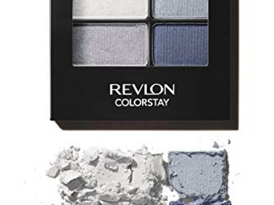 Revlon ColorStay 16 Hour Eyeshadow Quad with Dual Ended Applicator Brush Longwear Intense Color Smooth Eye Makeup for Day Night Passionate 528 016 oz 0 540x405 c