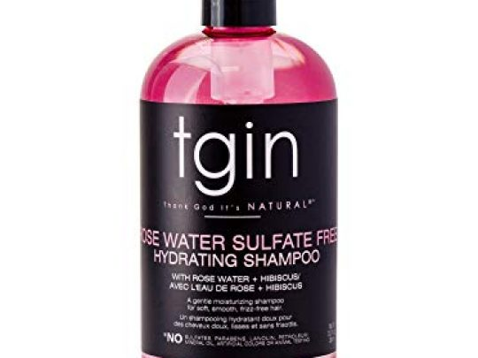 Rose Water Sulfate Free Hydrating Shampoo for Curls Kinks Waves Protective Styles Low Porosity Hair 0 540x405 c