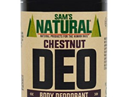 Sams Natural Deodorant Aluminum Free No phthalates parabens sulfates or dyes Made in New Hampshire For Men Women Unisex Vegan Cruelty Free 3 oz Chestnut 0 540x405 c