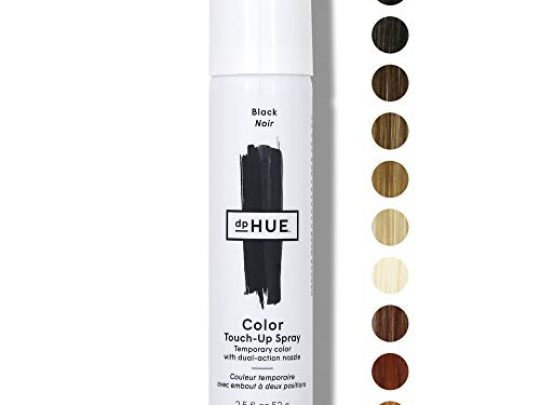 dpHUE Color Touch Up Spray Black 25 oz Root Cover Up Spray with Dual Action Nozzle for Precise Root Touch Up Fast Total Hair Cover Gluten Free Vegan 0 540x405 c
