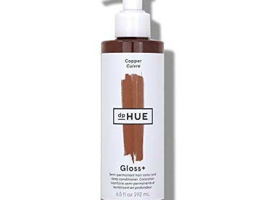 dpHUE Gloss Copper 65 oz Color Boosting Semi Permanent Hair Dye Deep Conditioner Enhance Deepen Natural or Color Treated Hair Gluten Free Vegan 0 540x405 c