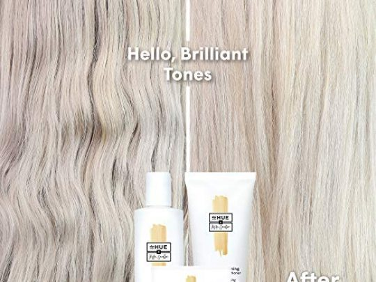 dpHUE x Kristin Cavallari Brightening Powder 6 Uses Boosts Brightness Shine of Blonde or Highlighted Hair Removes Minerals Metals Chlorine Impurities Color Safe Formula Cruelty Free 0 5 540x405 c