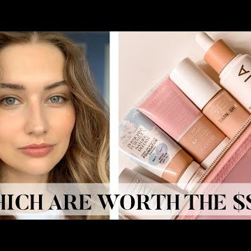Rating All Of My Clean Foundations | A Guide To Clean Beauty Bases by Sarah Palmyra
