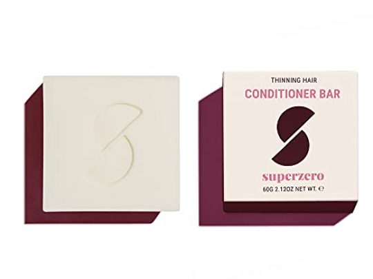 superzero Conditioner Bar for Thinning Hair Sulfate Free Vegan 100 Plastic Free Natural Eco Friendly and Stylist Recommended 0 540x405 c