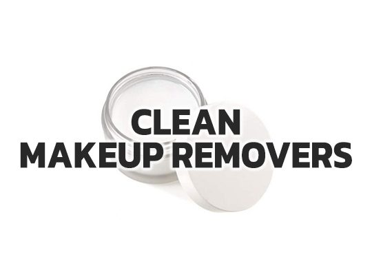 Clean Makeup Removers