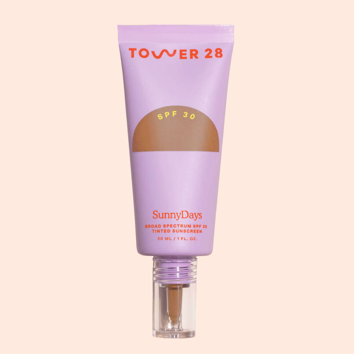 Sample of SunnyDays SPF 30 Tinted Sunscreen Foundation ( not for individual purchase )