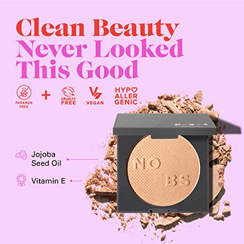 PYT Beauty Radiant Powder Highlighter Makeup Champagne Hypoallergenic Cruelty Free Vegan 1 Count 0 1