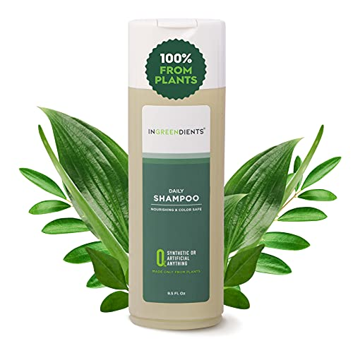 100 FROM PLANTS Ingreendients Vegan Shampoo For Sensitive Skin Scalp pH Balanced Gluten Free Sulfate Free Silicone Free Cruelty Free Made With Apple Cider Vinegar Tea Tree Oil Color Safe 0