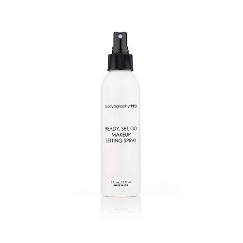 BODYOGRAPHY Professional Salon Multipurpose Setting Spray Prevents Fading or Caking Gluten Free Cruelty Free Paraben Free 6oz 0