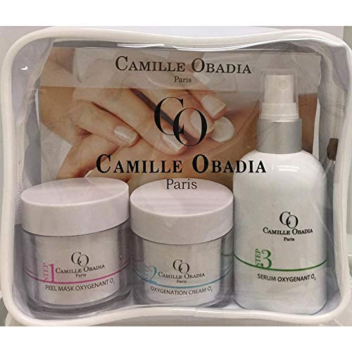 Beauty Kit for Hands by Camille Obadia Paris 3 products in 1 kit 50ml 50ml 120ml Contains great hand cream Paraben cruelty and gluten free Vegan Aloe Vera Kombucha 0