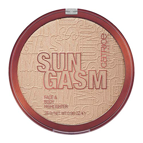 Catrice SUNGASM Face Body Highlighter Jumbo Sized Silky Soft Powder With Light Reflecting Pigments For All Skintones Vegan Paraben Free Oil Free Cruelty Free 0