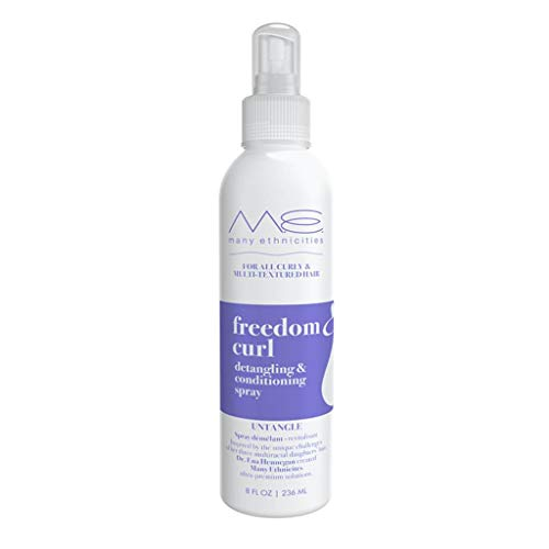 Freedom Curl Detangling and Conditioning Spray for Curly Hair Sulfate Free Vegan Paraben Free Gluten Free 8 oz 0