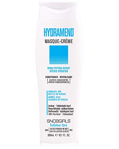 HYDRAMEND Masque Creme hydrating conditioner Intense Hydration Repair For Damaged Dry Brittle Porous Hair Vegan Sulfate Lactose Gluten Free 0