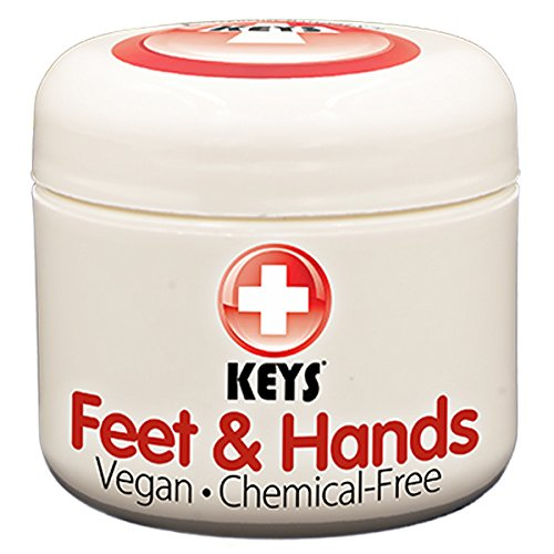 Keys Feet Hands Chemical Free Gluten Free Vegan Alternative Naturals Super Hydrating Soothing Relaxing Treatment for Chapped Cracked Dry Skin with Pure Organic Jellied Avocado 2 ounces 0