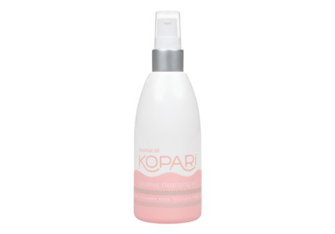 Kopari Coconut Cleansing Oil Gentle Oil Based Daily Facial Cleanser Moisturizing Hydrating Face Wash Makeup Remover Dermatologist Tested Cruelty Free phthalate free Non GMO Vegan 51 Oz 0