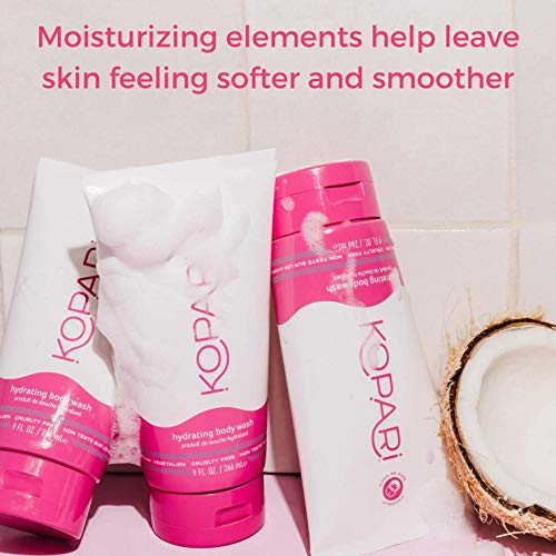Kopari Hydrating Body Wash Non Toxic Paraben Free Gluten Free Cruelty Free Made with Organic Coconut Oil 9 oz 2 Pack 0 0