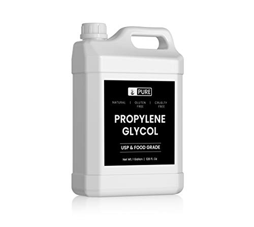 Natural Propylene Glycol 1 Gallon Pure Food Grade Premium Quality Gluten Free Made in USA No Preservatives No Additives BPA Free Recyclable Bottle 0