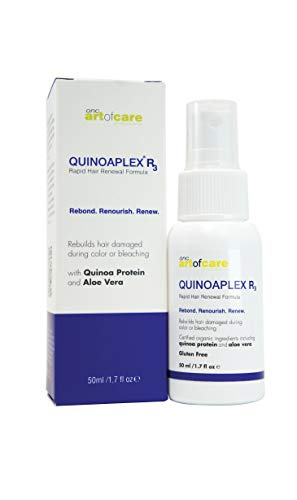 ONC QUINOPLEX R3 Hair Repair Treatment with Protein GMO Gluten Free Replenishing Refreshes Scalp Builds Volume Prevents Split Ends Black 50 millilitre 0
