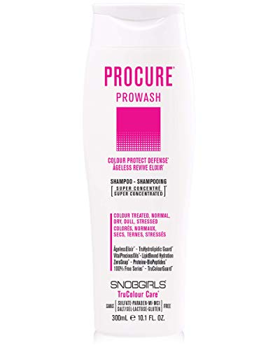 PROCURE Prowash Color Care Shampoo Colour Protect Defense For Colour Treated Hair Normal Dry Dull or Stressed Hair Vegan Sulfate Lactose Gluten Free 0